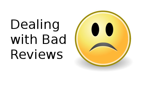 dealing with bad reviews