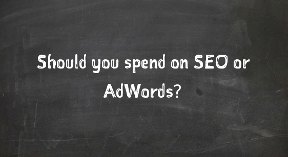 spend seo adwords