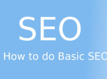 how to do basic seo