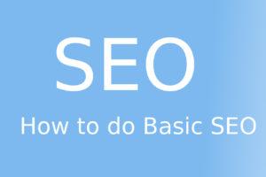 how to do basic seo
