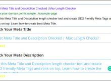 meta title description seo optimisation