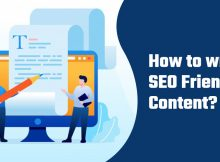 How to write SEO friendly content?