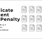 Duplicate Content SEO Penalty