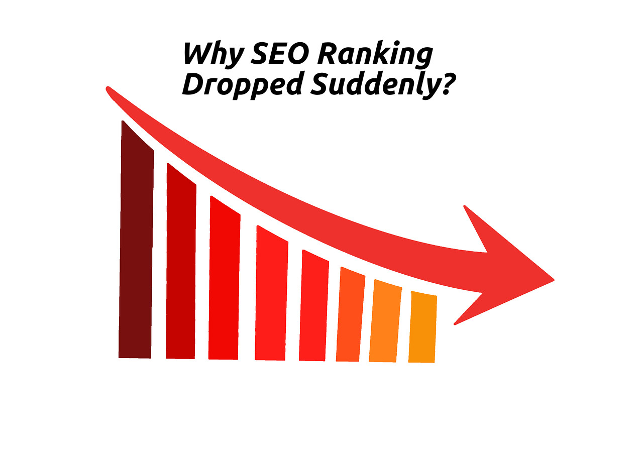 Google SEO ranking dropped suddenly